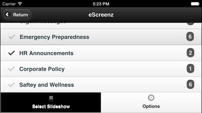 eScreenz screenshot one