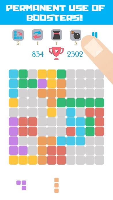 Block Fit! Shuffle Flippy Puzzle Wars screenshot two