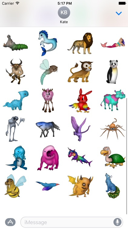 Animal Mix-up, Monsters, and Mythical Creatures