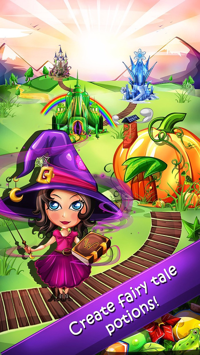 Witchy World - the magical puzzle game Screenshot