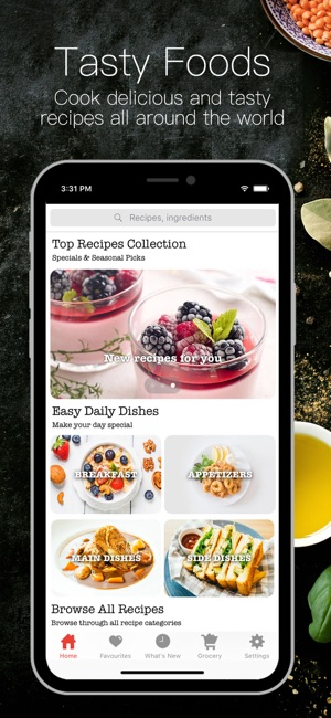 Korean recipes book on the app store screenshots forumfinder Image collections