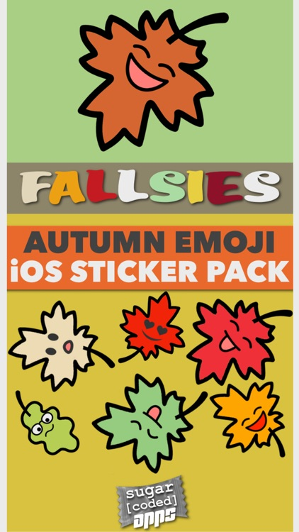 Fallsies! | Autumn Emoji screenshot-0
