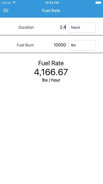 FlightFuel - Fuel Management for Pilots screenshot-3