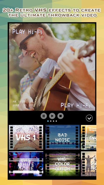 VCR Camcorder - Add Retro Camera and VHS Camcorder Effect to Video for Instagram screenshot-4