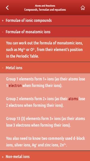 Ocr chemistry year 1 as sample on the app store screenshots urtaz Gallery
