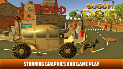 Drive Dog Buggy Taxi:  Dog Cart driving simulation screenshot two