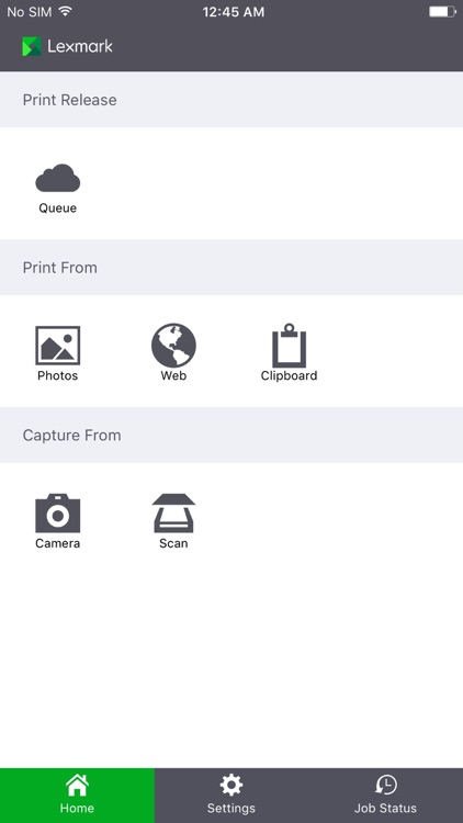 Lexmark Mobile Print screenshot-1