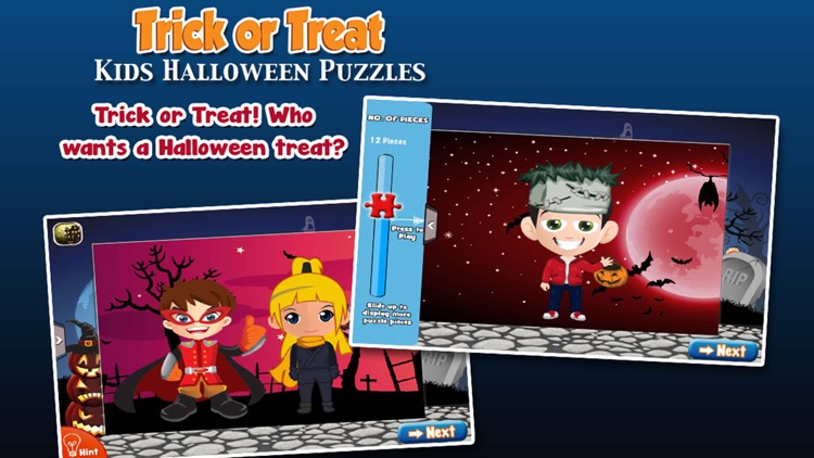 Trick or Treat Halloween Jigsaw Puzzles Deluxe screenshot-3