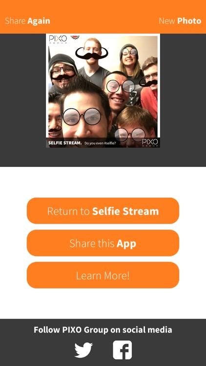 PIXO Selfie App! screenshot-4