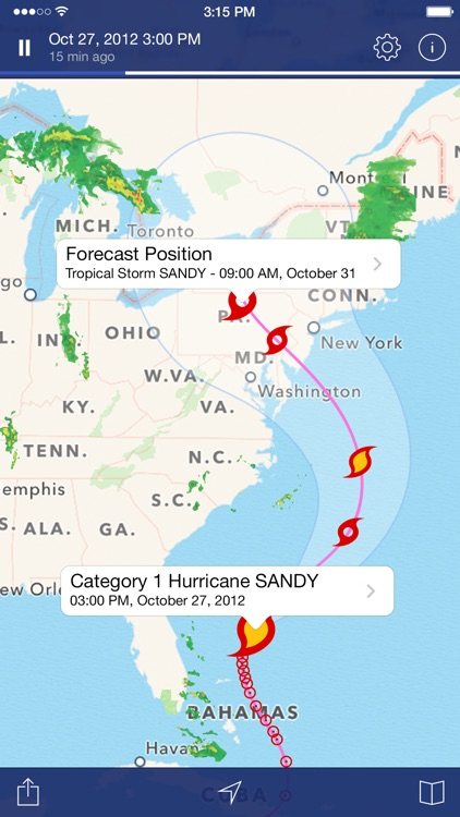 NOAA Radar Pro – Weather Alerts & Forecast screenshot-3