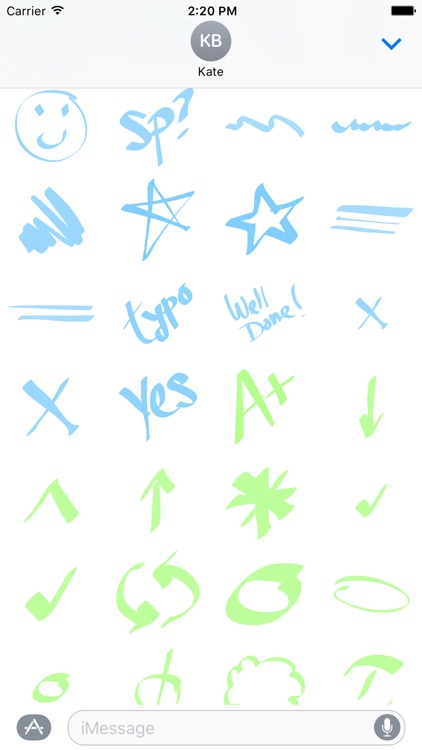 Highlighter And Marker - Ultimate Sticker Pack screenshot-4
