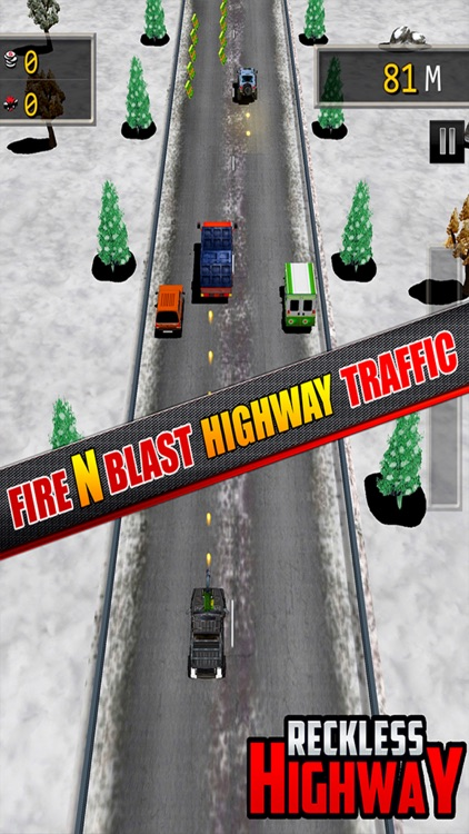 Reckless Highway - 3D Shooting And Racing Game screenshot-4