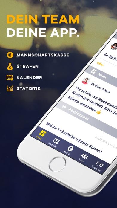 Screenshot for DeinTeam. Manage Deinen Verein in Germany App Store