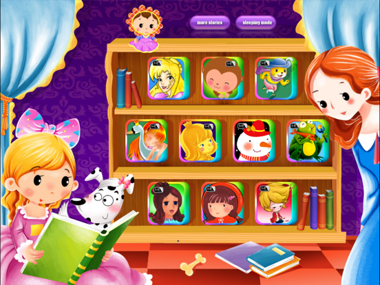 Screenshot #4 pour 10 Classic Fairy Tales - Interactive Books iBigToy
