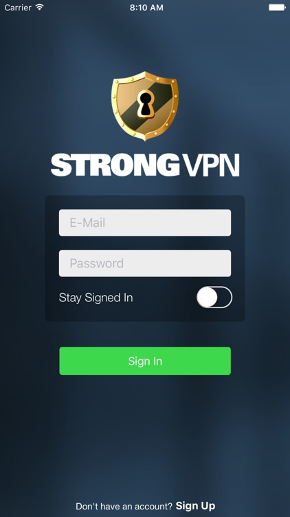 StrongVPN — The Most Powerful VPN app image