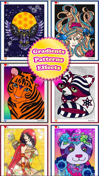 Magic Pony Coloring Book for Adults My Little Art! screenshot-3