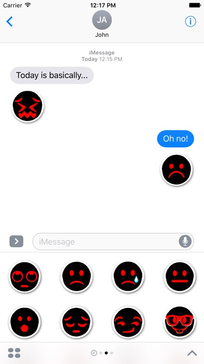 gloomies: goth emojis screenshot-3