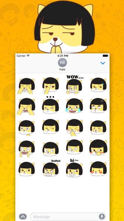 蘑菇头表情系列之KT