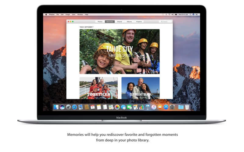 macOS Sierra Screenshot
