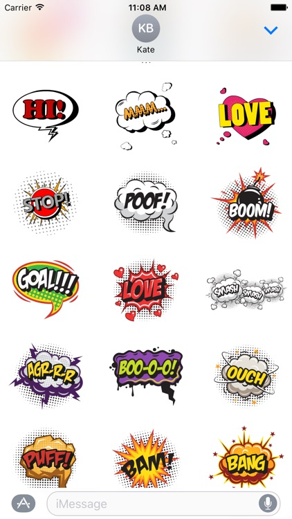 Comic Stickers
