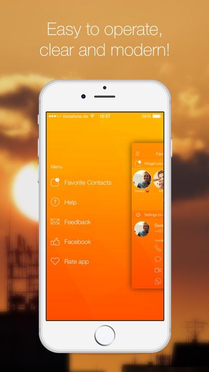 Favorite Contacts Launcher screenshot-4