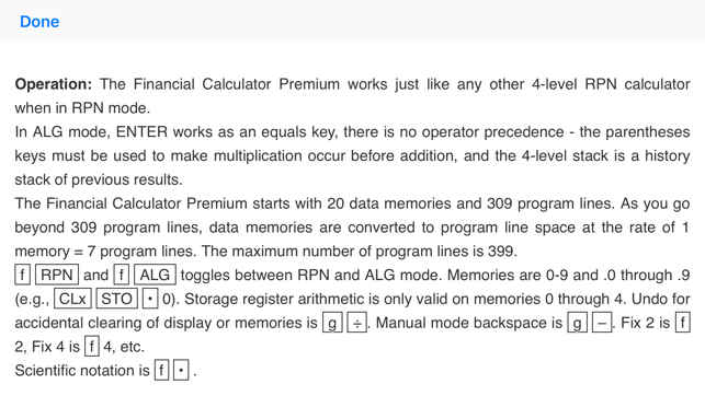 Financial Calculator Premium Screenshot