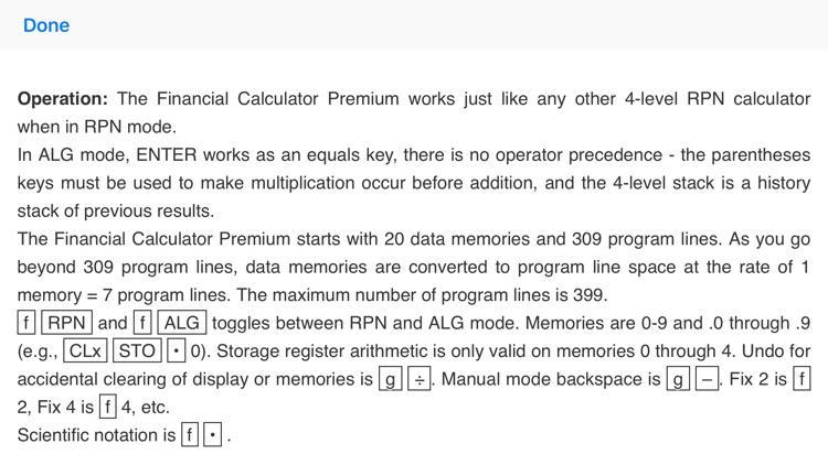 Financial Calculator Premium screenshot-4