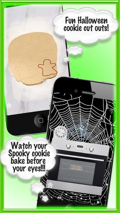 Spooky Cookie Maker Halloween Games for Girl & Kid screenshot-3