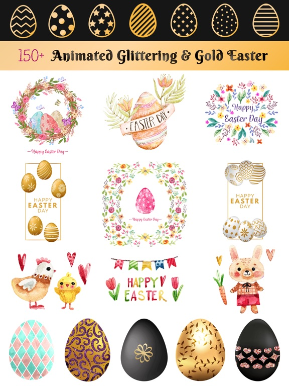 Glittering & Gold Easter Day screenshot 6