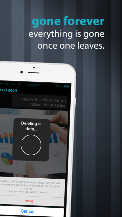 download DarkRoom Chat - Your discreet & confidential live messenger apps 3