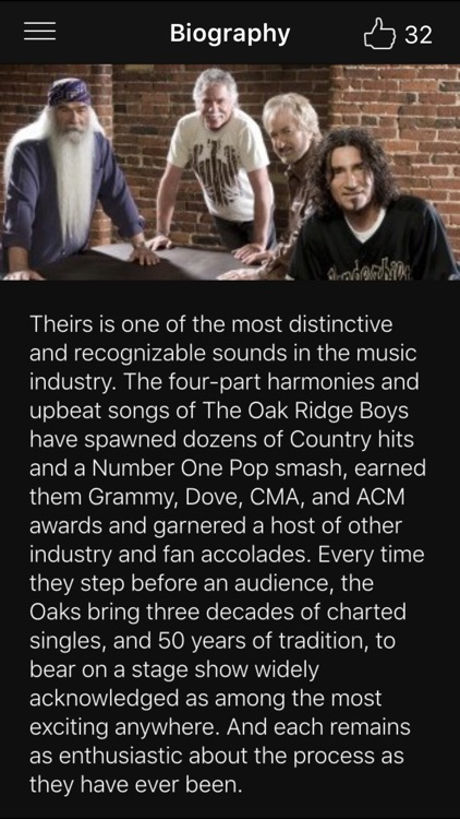 The Oak Ridge Boys Official App