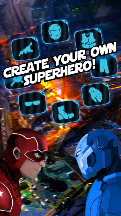 Create Yr Own Man Super.Hero ~ A Character Costume Dress-Up Game for Boys