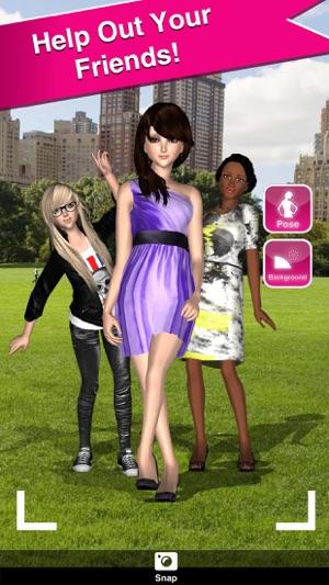 Fashion dress up 3d