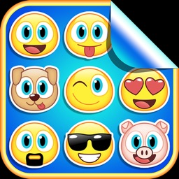 Photo Stickers Emoji Booth : Emoticon for Pictures
