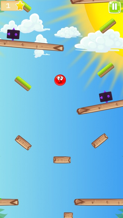 Red Ball Bounce Rush screenshot-3