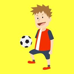 Juggle Ball Premier League Addictive Superstar Soccer Juggling Game - Be a Score Hero