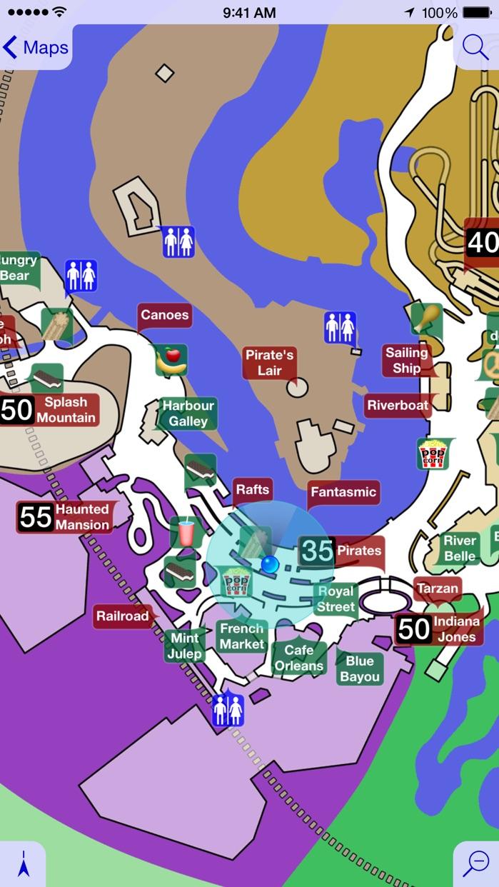 Magic Guide for Disneyland: Wait Times & Dining Screenshot