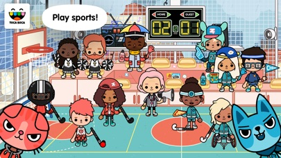 Toca Life: After School screenshot 1