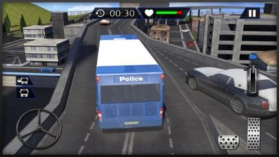 警察刑務所バスドライバ仕事3D:市の刑務所にドライブコーチ&輸送犯罪のおすすめ画像3