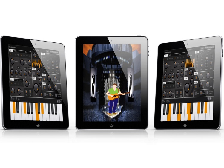 Digital Piano Sound Synthesizer: Advance Midi  Melody Full-Features iPad App screenshot-3