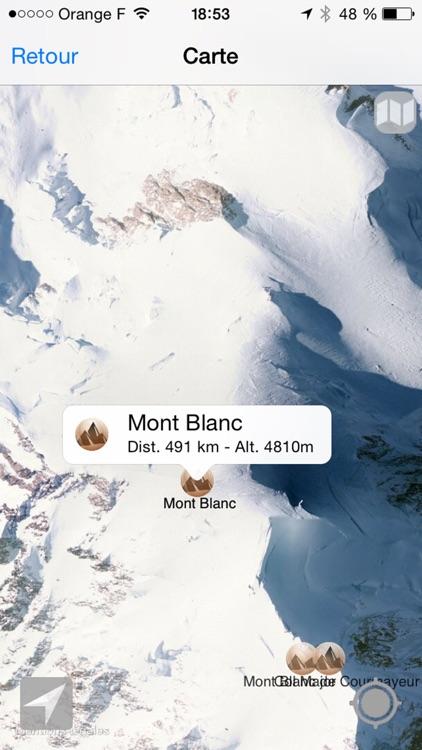 Alps Peaks AR screenshot-3