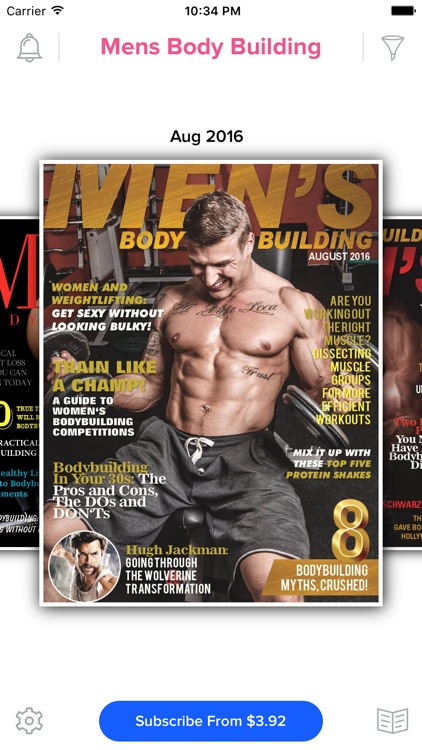 Men's Body Building Magazine