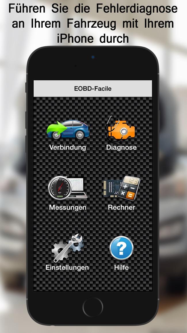 EOBD Facile - Fahrzeugdiagnose Screenshot