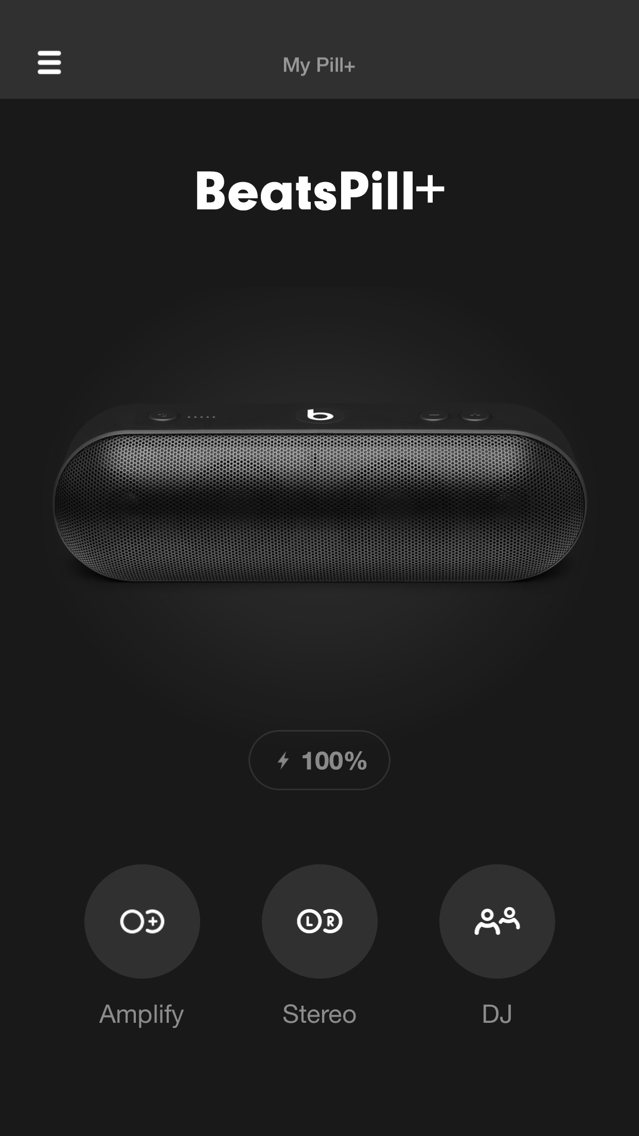 Beats Pill⁺ Screenshot
