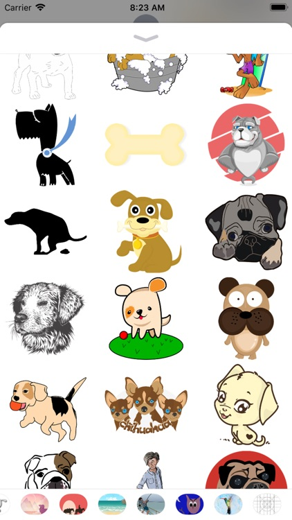 Dog Stickers 2 - Sid Y