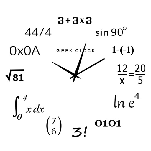 Analog Geek Clock