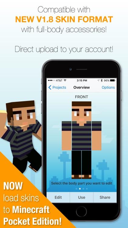Best Skins Creator Pro - for Minecraft PE & PC screenshot-0