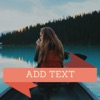 Add Text - Captions to your photos - iPhoneアプリ