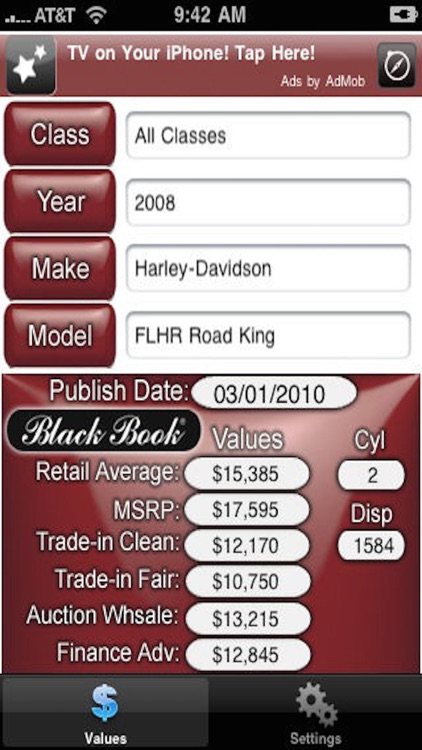 Black Book iPowerSports screenshot-4