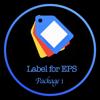 Label Design for EPS - XIaochun Liu Cover Art